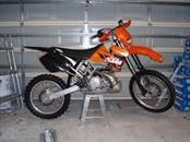 KTM Motorcycle 2001 300 CC
